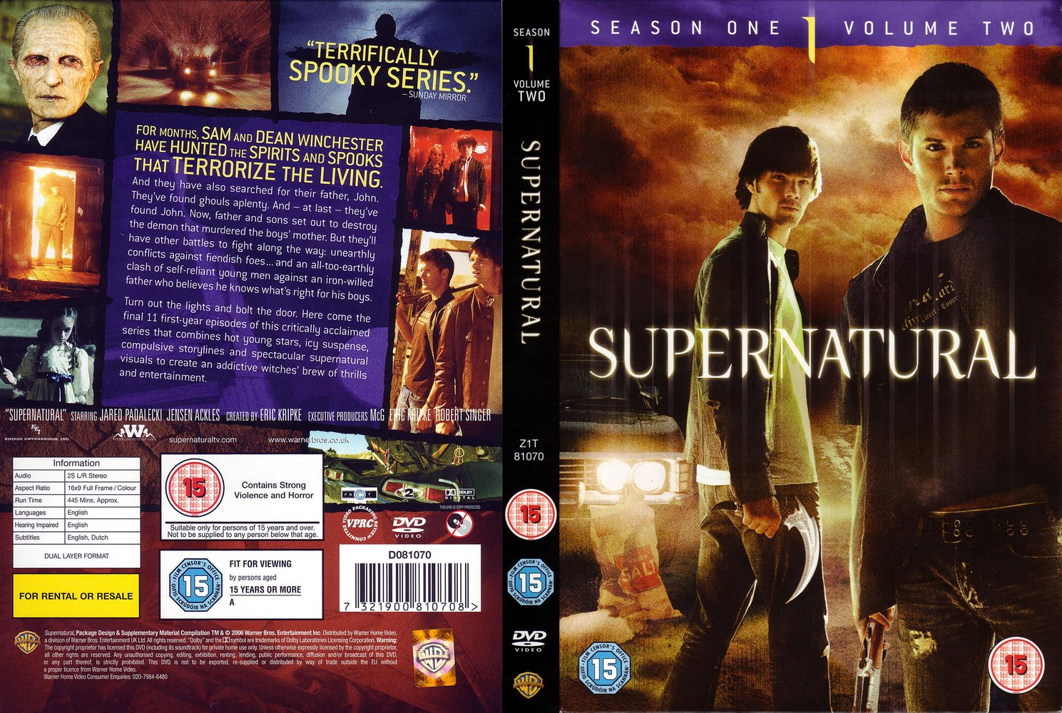Images Dvd Covers Supernatural Region Beautiful Jodelle Image And