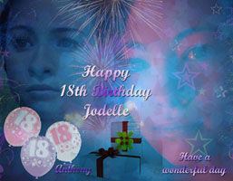 Jodelle Ferland 18th Birthday Graphic