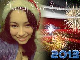 Happy New Year 2013 - Beautiful Jodelle