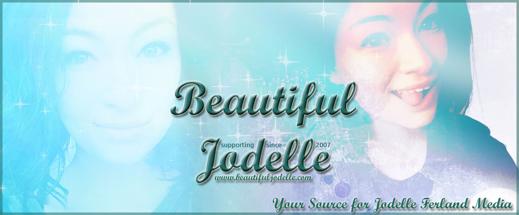 Beautiful Jodelle - Jodelle Ferland 21st Birthday Banner