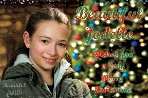 Merry Christmas from Beautiful Jodelle