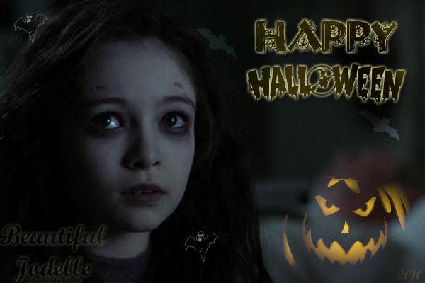 Jodelle Ferland Happy Hallowen 2010