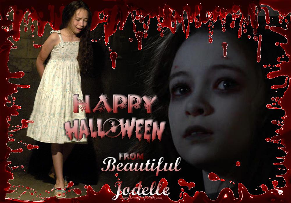 Happy Halloween from Beautiful Jodelle
