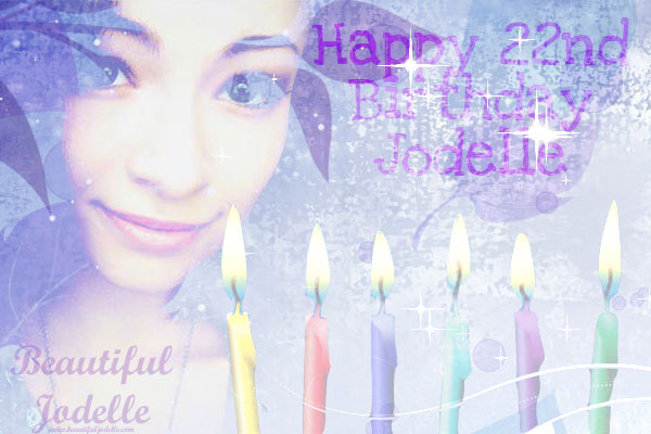 Jodelle Ferland 22nd Birthday Image - Beautiful Jodelle