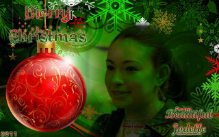 Merry Christmas from Beautiful Jodelle 2011
