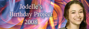 Jodelle Ferland Birthday Project 2008