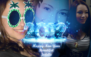 Happy New Years 2012 from Beautiful Jodelle