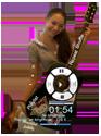 Jodelle Ferland Media Player skin compact 2