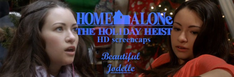 Home Alone The Holiday Heist HD screencaps - Beautiful Jodelle