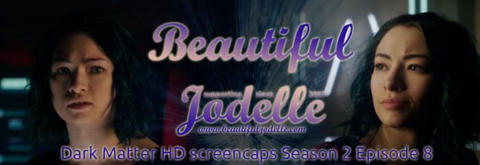 Beautiful Jodelle News - Dark Matter Season 2 Episode 8 Screencaps - Jodelle Ferland