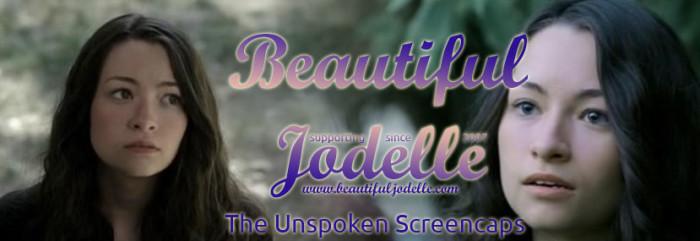 Beautiful Jodelle News - The Unspoken Screencaps - Jodelle Ferland