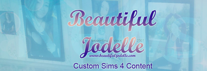 Jodelle Ferland - Sims 4 Custom Content - Beautiful Jodelle News