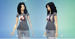 Jodelle Ferland Sims 4 Tshirt