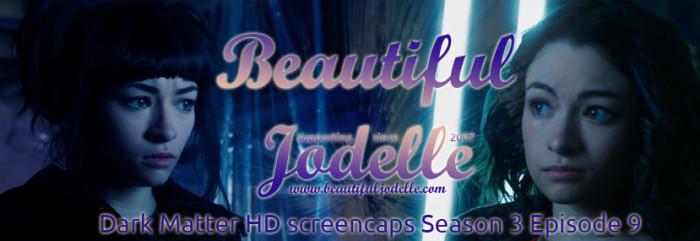 Jodelle Ferland - Dark Matter Season 3 Episode 8 HD screencaps - Beautiful Jodelle News
