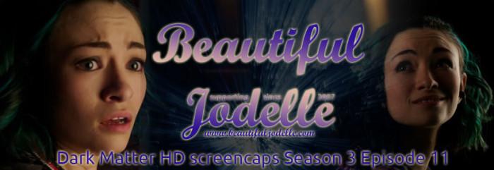 Jodelle Ferland - Dark Matter Season 3 episode 11 HD screencaps - Beautiful Jodelle News