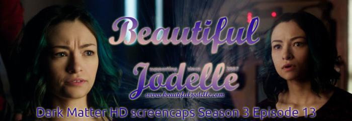 Jodelle Ferland - Dark Matter Season 3 Episode 13 HD screencaps - Beautiful Jodelle News