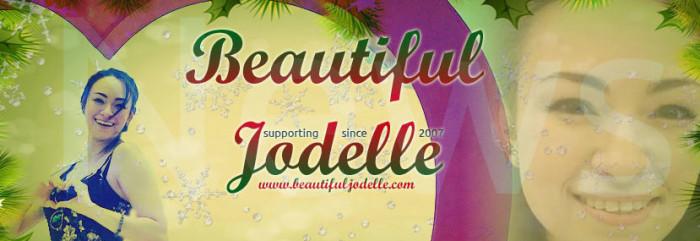 Beautiful Jodelle News - Happy Holiday 2017