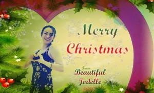 Beautiful Jodelle Christmas 2017 - Jodelle Ferland
